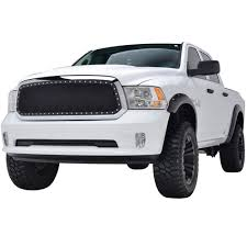 46-0759 Ram 1500 Wire Mesh Grille Insert Evolution Black Stainless ...