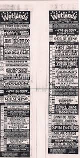 Smashing Pumpkins Acoustic Tour Setlist by Summer Break Pearl Jam U0027s July 1991 U S Tour Twofeetthick Com
