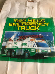 100 2007 Hess Truck Bags Jackies Toy Store