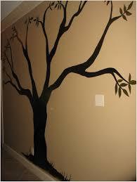 Tree Wall Painting Diy Teen Room Decor Bedroom Ideas For Teens Over Toilet Cabinet B35b