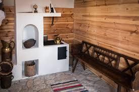Imagen gratis Banco pared chimenea ethno pueblo madera pared
