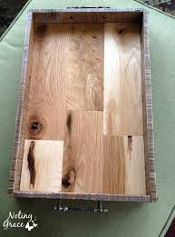 Reclaimed Wood Serving Tray From Noting Grace A Mix Of Pallet