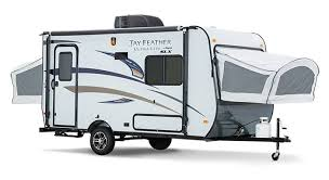 Hybrid Trailers Combine The Best Features Of A Conventional Small Travel Trailer With Extra Sleeping Provided By Fabric Sided Drop Out