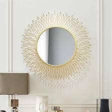 amerikanischen dekorative spiegel runde eingang spiegel wohnzimmer hintergrund wand hängen spiegel sonnenbrille esszimmer schrank spiegel