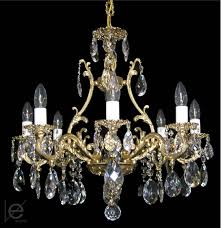 Maria Theresa Crystal Chandelier Brass Strass Chandeliers