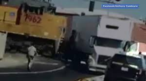 VIDEO: Driver Flees As Train Smashes Semi-truck In Central ... Old Trucks And Tractors In California Wine Country Travel Pin By Jerry On 18 Wheels And A Dozen Roses Pinterest Heavy Duty Dump For Sale Plus Mack Truck Hybrid Gm Trucks Will Be Available In Medium Market Used Commercial Tractors Semis For Sale Reliance Trailer Transfers Img_0417_1483228496__5118jpeg American Historical Society Home Central Sales Long Combination Vehicle Wikipedia
