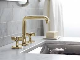 Polished Brass Bathroom Faucets Widespread by Bathrooms Design Unlacquered Brass Bathroom Faucet Bringing Back