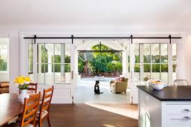 Ideas Affordable Double Barn Doors Design Delightful Open Floor Home Interior With Kitchen