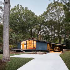 100 Centuryhouse In Situ Studio Revives Midcentury Modern Home In North Carolina