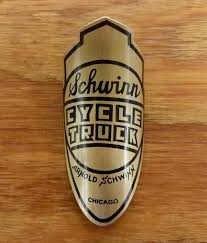 HEAD BADGE FOR SCHWINN CYCLE TRUCK CHICAGO BRASS – Bicycle Heaven Ups Now Using Palpowered Trike To Deliver Freight In Portland Head Badge For Schwinn Cycle Truck Chicago Brass Bicycle Heaven The Cycle Truck Hauls The Urban Adventure League Sensei 1939 Arnold Schwinn Flyer Production Page 6 Motorized Engine Kit Forum Luna Cargo Ebike Worksman Updates Colonels Blog Truckin Wartime Blues My Cycletruck Project Update Bilenky Works Flickr Old Original Rat Rod Bikes