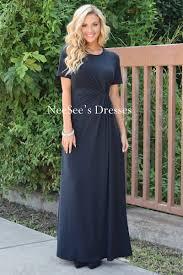 black modest maxi dress modest bridesmaids cute modest church