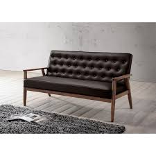 Darrin Leather Sofa From Jcpenney by Scandinavian Rosewood Leather 2 Seater Sofa 1960s 01 Sofa U0027s