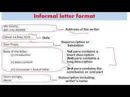 Informal letter for SSC MTS DESCRIPTIVE PAPER DETAILED Explanation