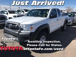 100 Santa Fe Truck PreOwned 2014 Toyota Tacoma Base In ES027405T1 Toyota