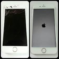 white iphone 6 screen repair