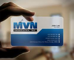 100 Ama Associates Serious Professional Construction Company Business Card