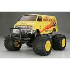 100 Monster Truck Lunch Box Tamiya 112 Scale Radio Control Box Car Kit