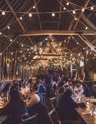 Barn Wedding Light Ideas Festoon Lights