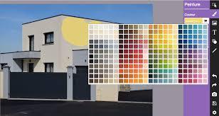 nuancier peinture facade exterieure kazadécor simulateur de couleurs de peinture en ligne gratuit