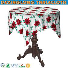 jetable 60 pouce ronde de noël nappe table en plastique tissu