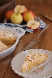 apfel mandel kuchen mit marzipan cookie und co