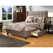 Bedroom Modern King Size Beds Kota Queen Platform Overstock