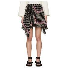 isabel marant women u0027s black raffi wrap skirt galyshoe