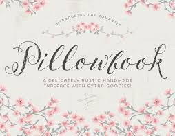 Script Font Pillowbook PLUS Extras Modern Calligraphy Wedding Elegant Typeface Blog Photography Hand Drawn