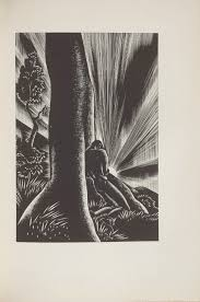 Untitled Illustration 43 In The Book Wild Pilgrimage By Lynd Kendall Ward New York Harrison Smith Robert Haas 1932