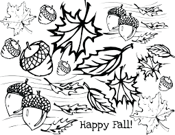 Beautiful Fall Coloring Pages Preschoolers Pictures Page Halloween For Free Alphabet Full Size