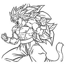 Top Free Printable Dragon Ball Z Coloring Pages