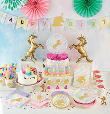 Pink And Gold Birthday Decorations Canada by Creative Party Ltd