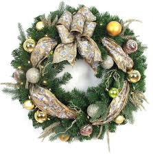 Martha Stewart Pre Lit Christmas Tree Troubleshooting by 10 Best Christmas Wreaths For The Front Door In 2017 Artificial