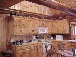 Log Cabin Kitchen Island Ideas by The Kitchen Of Ely Island Log Cabin For Rent The Outdoor Kitchen In