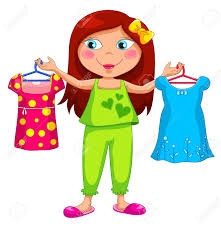 Dress In Pajamas Clipart