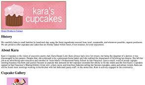 In Class Lab 2 Karas Cupcakes