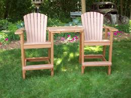 attractive bar height adirondack chair plans adirondack chairs
