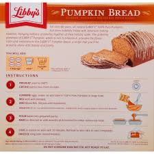 Libbys Pumpkin Muffins Crumble Top by Libby U0027s Classic Pumpkin Bread Kit With Icing 56 1 Oz Box