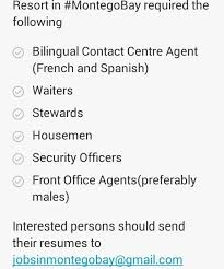 Front Desk Agent Jobs In Jamaica by I Need A Job Jamaica Added A New Photo I Need A Job Jamaica