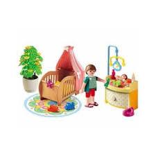 playmobil chambre bébé playmobil 5334 chambre de bébé avec berceau pas cher achat