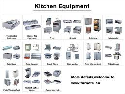 Kitchen Equipment Restaurant Perfect Kitchen And Good Looking