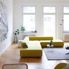 wohnen mit der farbe gelb