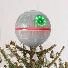 Star Wars Death Christmas Tree Topper