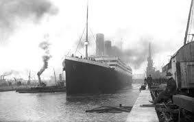 The Sinking Of The Britannic Old Version by Titanic Prepares To Leave Port Southampton 10 April 1912