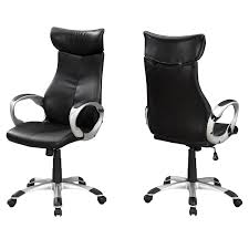 OFFICE CHAIR - BLACK LEATHER-LOOK / HIGH BACK EXECUTIVE Soho Sardinia Highback Executive Chair Pu Leather High Back Office Task Ergonomic Computer Desk Titan Big And Tall Sierra Office Chair Grey Microfiber High Back Executive Modern Best Mesh With Headrest Buy Chairergonomic Chairoffice Mocha Eco Ergodynamic Sumo Faux Black Ofm Collection Model 500l By Flash Fabchair Ayrus With Extra Cushion Color Upholstery Center Tilt Mechanism Chrome Plated Premium Base