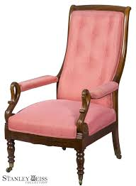 100 Duncan Phyfe Folding Chairs An Important Mahogany Neoclassical OpenScroll Armchair Or Lolling