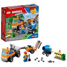 100 Lego Cement Truck Amazoncom LEGO Juniors4 Road Repair 10750 Building Kit 73