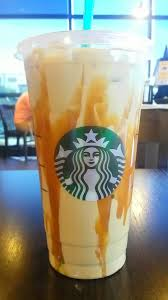 Venti Iced Coffee Caramel Instead Of Classic Extra Drizzle
