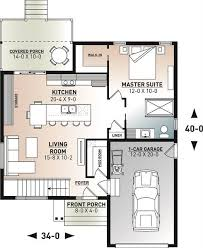 affordable modern style house plan 7558
