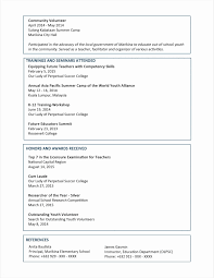 Resumes For High School Students New Student Resume Examples